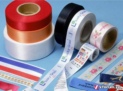 Nhãn mác quần áo, mác in, mác dệt theo yêu cầu giá rẻ nhất sài gòn