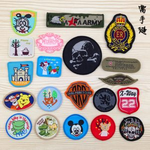 sticker vải dệt ủi áo, sticker vải ủi giá rẻ tại TPHCM