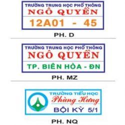 Cung cấp phù hiệu bảng tên logo ticker vải keo ủi các loại tphcm