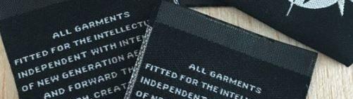 Nhận in nhãn dệt cao mật độ-nhãn dệt quần áo cao cấp 2020
